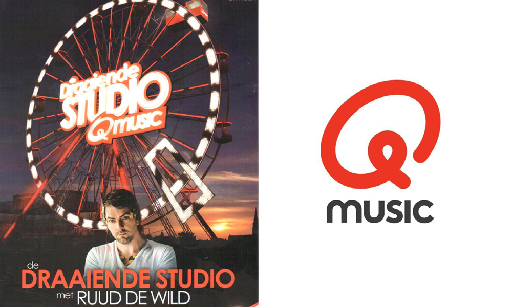 Q-Music draaiende studio