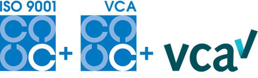 ISO9001 + VCA