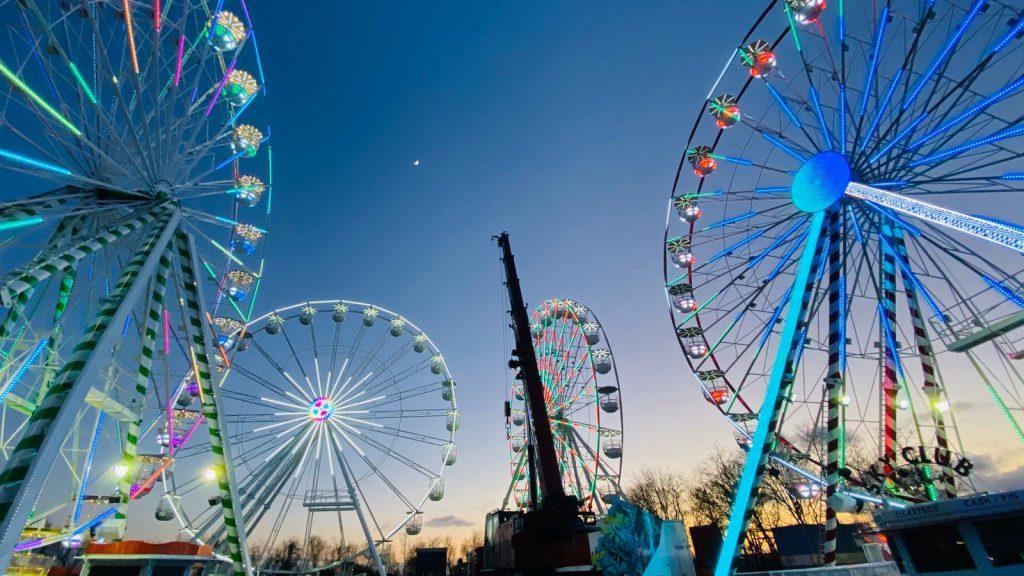4 Lamberink Ferris Wheels on the Lamberink Site