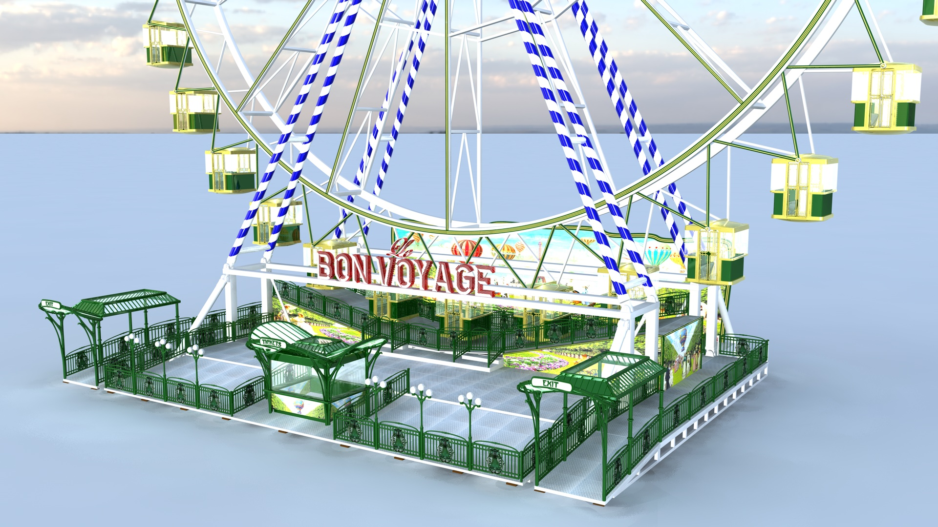 Lamberink RL43 Ferris Wheel